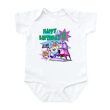 Astronaut 1st Birthday Onesie