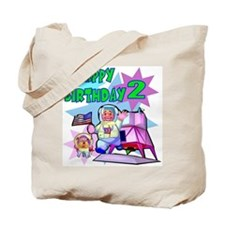 Astronaut 2nd Birthday Tote Bag