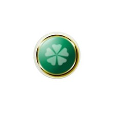 Medallion Clover Mini Button (10 pack)