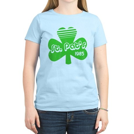 Retro St. Pat's Womens Light T-Shirt