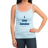 I Love Sweden Ladies Top