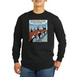 Dog-eat-Cat World Long Sleeve Dark T-Shirt