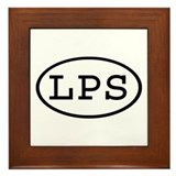 LPS Oval Framed Tile