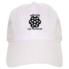 Celtic Knot Maid of Honor Baseball Cap