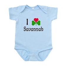 I Love Savannah Infant Bodysuit