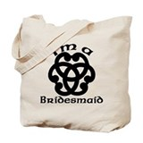 Celtic Knot Bridesmaid Tote Bag