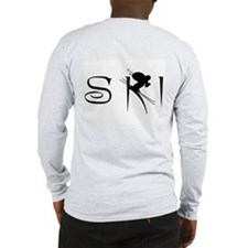 SKI DOWNHILL Long Sleeve T-Shirt