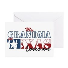 My Grandma in TX Greeting Cards (Pk of 20)