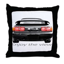 "MR2 ""Enjoy the view."" Throw Pillow"