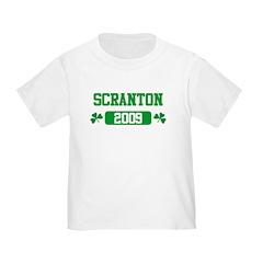 St Patricks Day Scranton Toddler T-Shirt