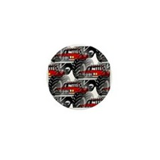 RED MONSTER TRUCK Mini Button (100 pack)