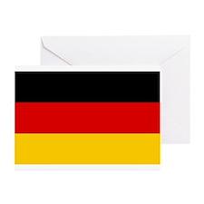 German Flag Greeting Cards (Pk of 10)