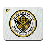 Cal Knights Hockey Wht Mousepad