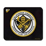 Cal Knights Hockey Blk Mousepad