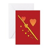 Flute Heartsong Greeting Cards (Pk of 20)