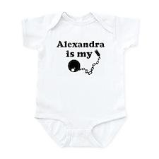 Alexandra (ball and chain) Infant Bodysuit