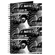 BLACK MONSTER TRUCK Journal