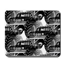 BLACK MONSTER TRUCK Mousepad