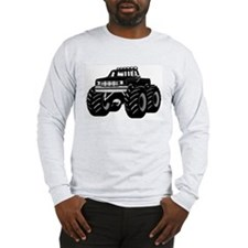 BLACK MONSTER TRUCK Long Sleeve T-Shirt