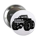 "BLACK MONSTER TRUCK 2.25"" Button"