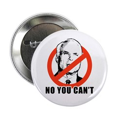 "Anti-McCain: No you can't 2.25"" Button (10 pack)"