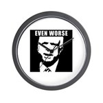 Even Worse President Wall Clock