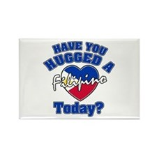 Have you hugged a Filipino today? Rectangle Magnet