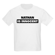 NATHAN is innocent T-Shirt
