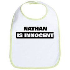 NATHAN is innocent Bib