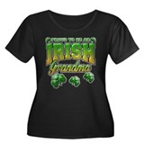 Proud to Be an Irish Grandma Women's Plus Size Sco