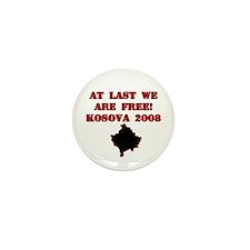 Kosova Independence!! Mini Button (10 pack)