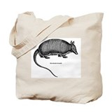 Nine-Banded Armadillo Tote Bag