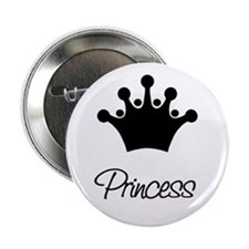 Retro Princess Button