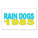 RAIN DOGS Rectangle Sticker