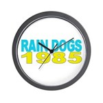 RAIN DOGS Wall Clock