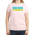 RAIN DOGS Women's Pink T-Shirt