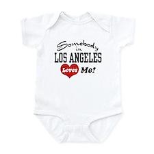 Somebody In Los Angeles Loves Me Infant Bodysuit