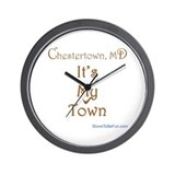 Chestertown It's My Town Wall Clock