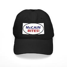 McCain Bites! Oval Baseball Hat