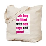 &quot;Sex toys and porn&quot; Tote Bag