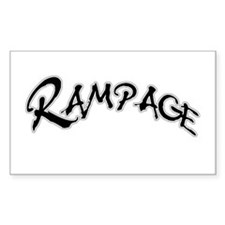 Rampage Rectangle Decal