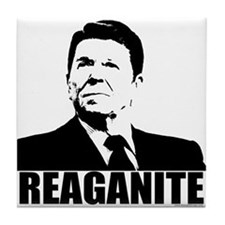 "Ronald Reagan ""Reaganite"" Tile Coaster"