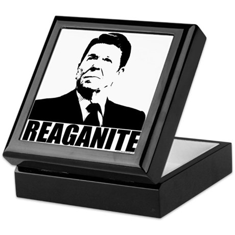 "Ronald Reagan ""Reaganite"" Keepsake Box"