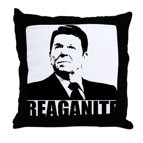 "Ronald Reagan ""Reaganite"" Throw Pillow"