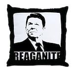 "Ronald Reagan ""Reaganite"" Throw Pillow"