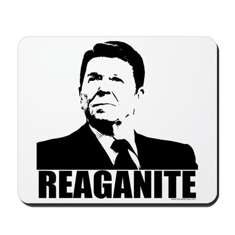 "Ronald Reagan ""Reaganite"" Mousepad"