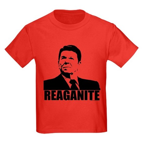 "Ronald Reagan ""Reaganite"" Kids Dark T-Shirt"