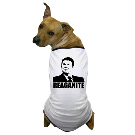 "Ronald Reagan ""Reaganite"" Dog T-Shirt"