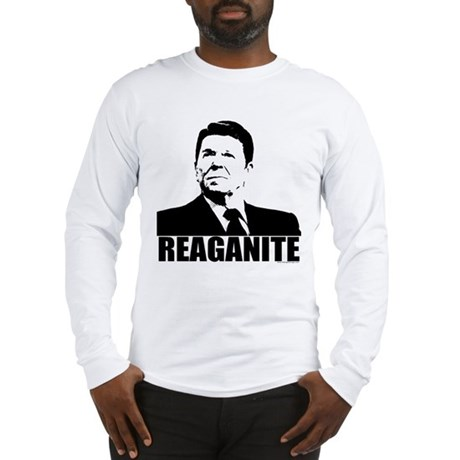 "Ronald Reagan ""Reaganite"" Long Sleeve T-Shirt"