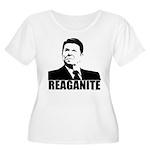 """Ronald Reagan """"Reaganite"""" Women's Plus Size Scoop"""